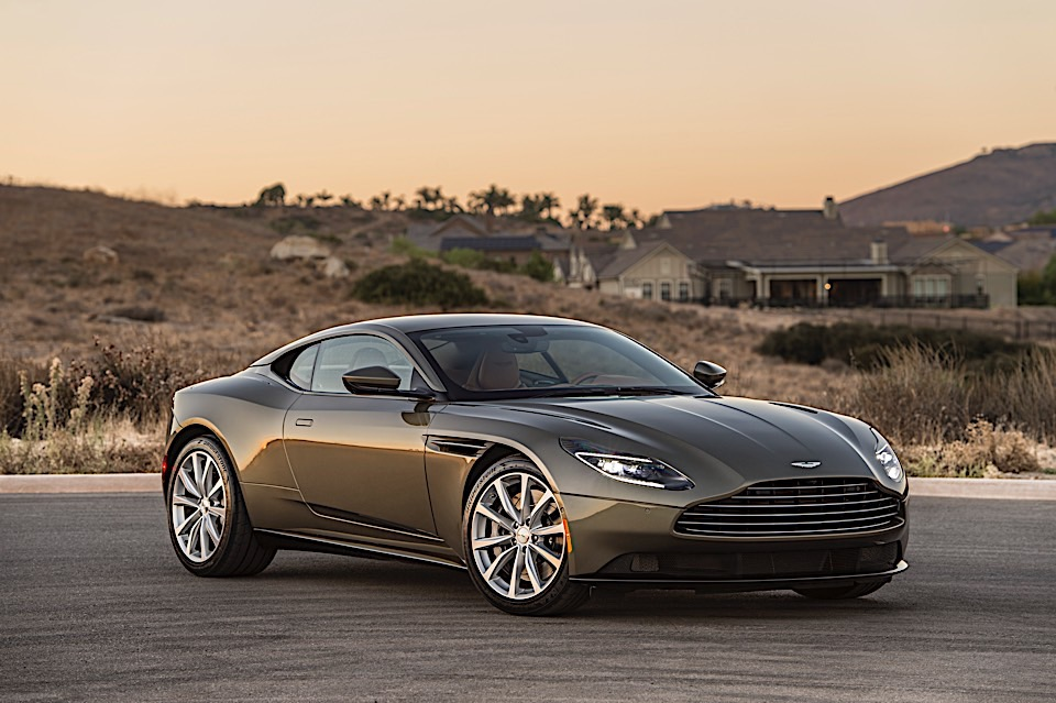 2018 Aston Martin DB11 V8 First Drive Review: Stirred, Not ...