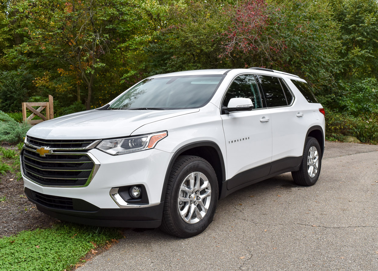 2018 Chevrolet Traverse Review: Ready to Play with the Big Boys