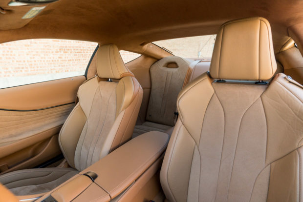 2018 lexus 2 seater. Contemporary Lexus So With That Said Consider The Back Seat A Storage Space Which You May  Need Given Diminutive 54 Cubic Feet Of In Trunk And 2018 Lexus 2 Seater
