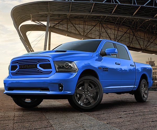 2018 Ram 1500 Hydro Blue Sport Has a Serious Case of the Blues