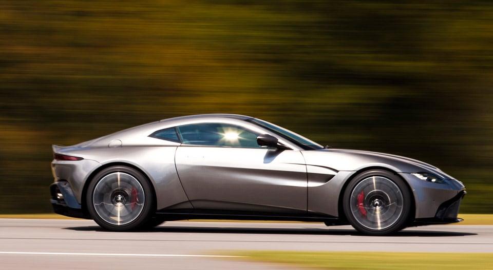 2019 Aston Martin Vantage Improves Upon James Bond S Db10 95 Octane