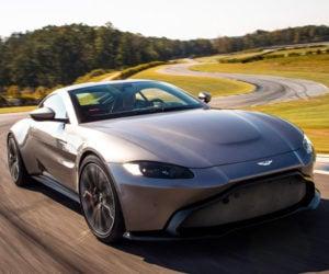 2019 Aston Martin Vantage Improves Upon James Bond's DB10
