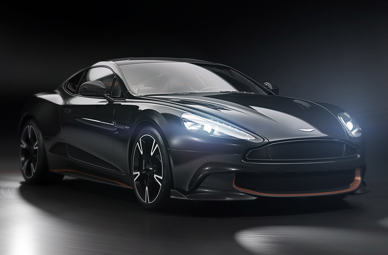 Aston Martin Vanquish S Ultimate Edition Is a Proper Send-off