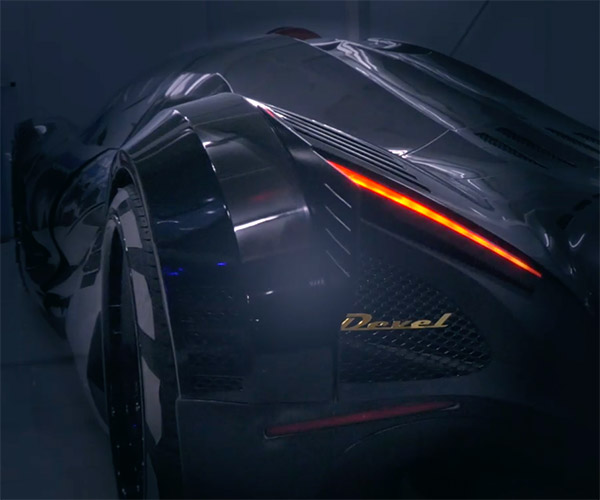 Devel Sixteen Makes More than 5,000 Horsepower