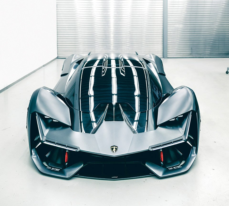 Lamborghini Terzo Millennio Is An Electric Hypercar From