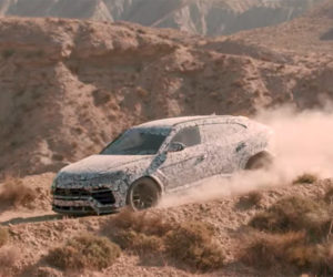 Lamborghini Urus SUV Leaves the Tarmac and Heads Off-road