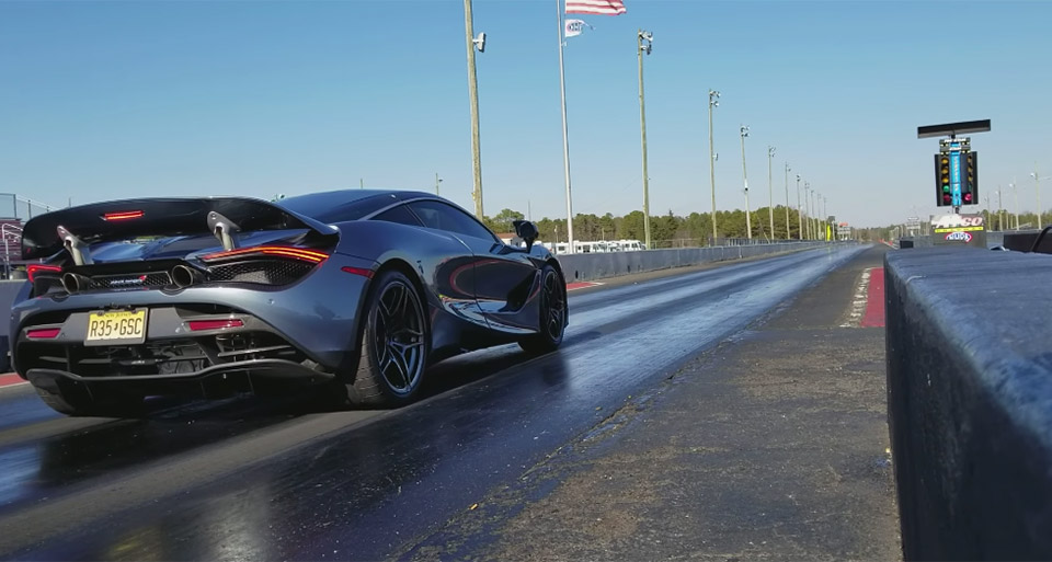 Stock McLaren 720S Puts Down Trio of Sub-10 Second 1/4 mile Runs