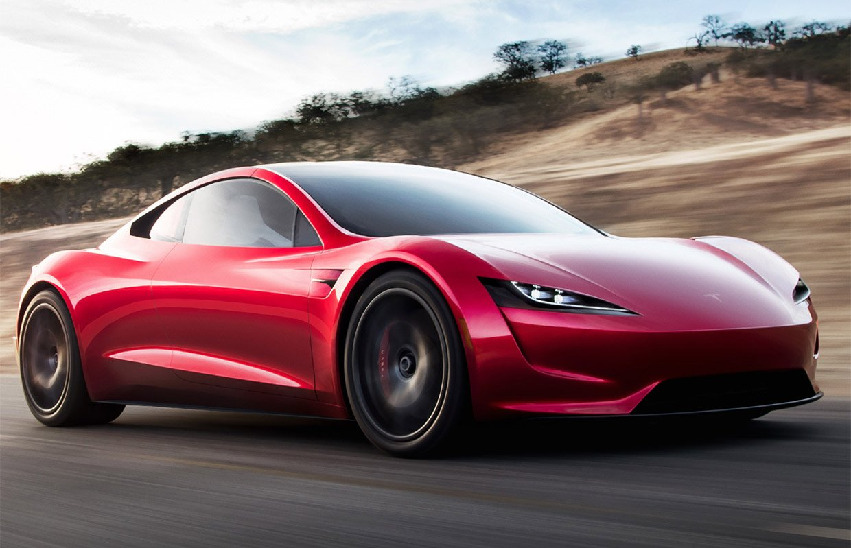 The New Tesla Roadster Is Here to Blow Our Minds