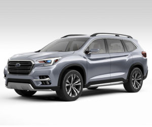 Subaru Ascent 3-Row SUV to Get Official at LA Auto Show