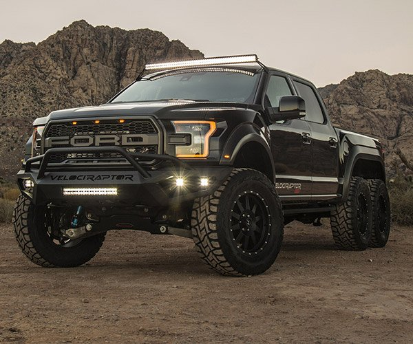 Hennessey VelociRaptor 6×6 Is a Raptor with a Bonus Axle