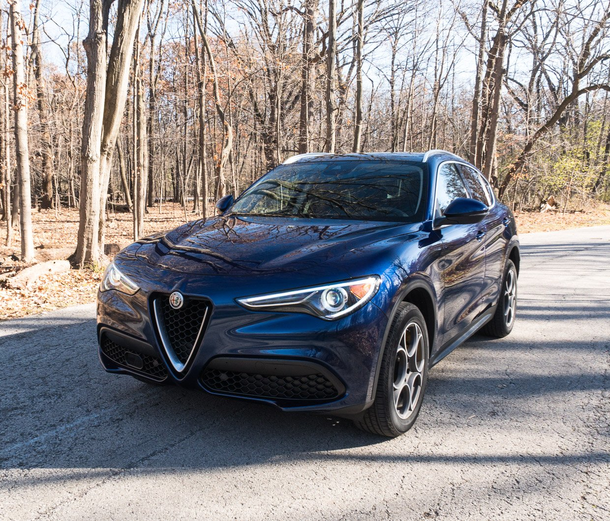2018 alfa romeo stelvio review a beautiful blue italian 95 octane. Black Bedroom Furniture Sets. Home Design Ideas