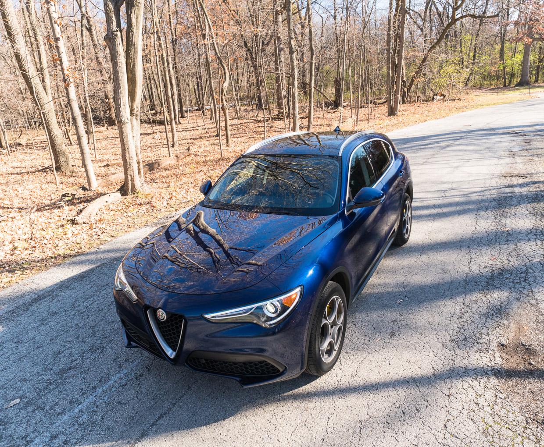 2018 Alfa Romeo Stelvio Review A Beautiful Blue Italian 95 Octane