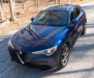2018 Alfa Romeo Stelvio Review: A Beautiful Blue Italian