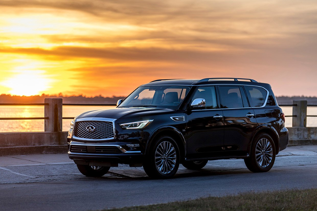 2018 infiniti qx80 first drive review big is now beautiful 95 octane. Black Bedroom Furniture Sets. Home Design Ideas