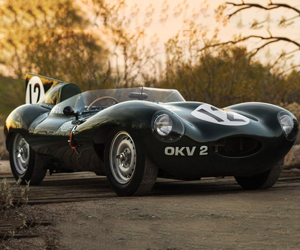Glorious 1954 Jaguar D-Type Works Driven by Sir Stirling Moss for Sale