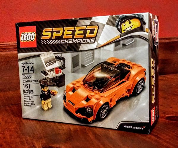 McLaren 720S LEGO Kit Review: Orange is the New Brick