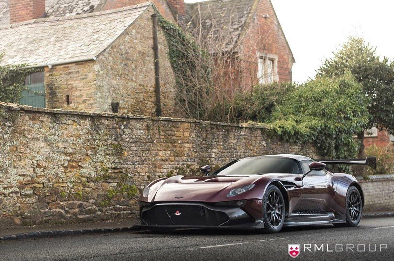 Aston Martin Vulcan Gets a Street-Legal Conversion