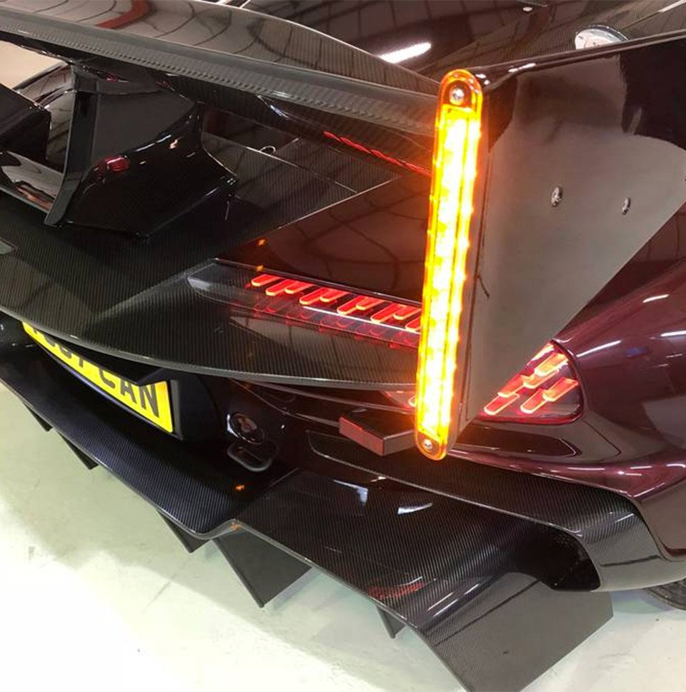 Aston Martin Vulcan Gets A Street Legal Conversion 95 Octane