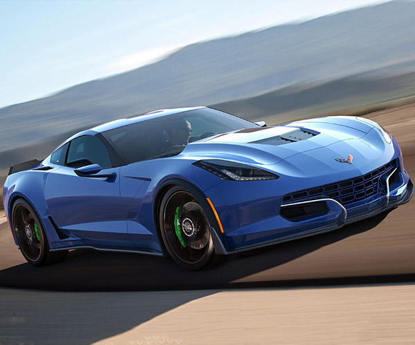 Genovation Cars GXE is an All-Electric Corvette C7