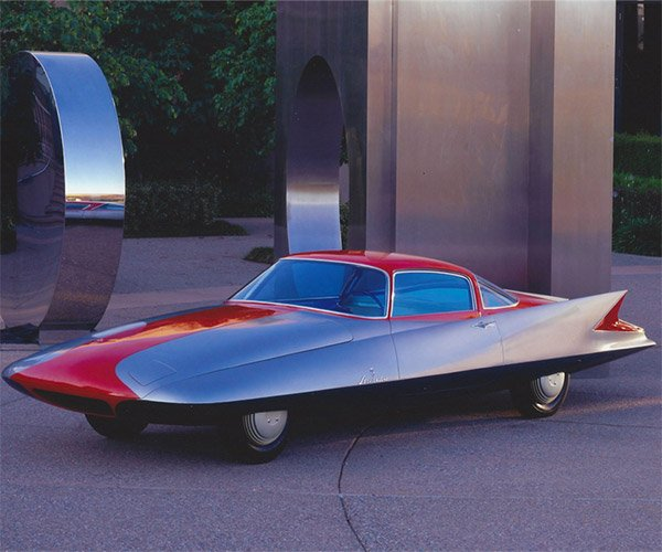 Concepts from Future Past: Ghia Gilda Streamline X Coupe