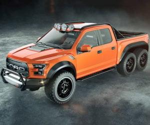 Hennessey to Build 50 VelociRaptor 6×6 Trucks