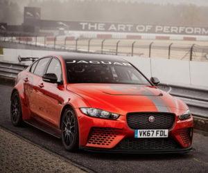 Jaguar XE SV Project 8 Busts Nürburgring Sedan Lap Record