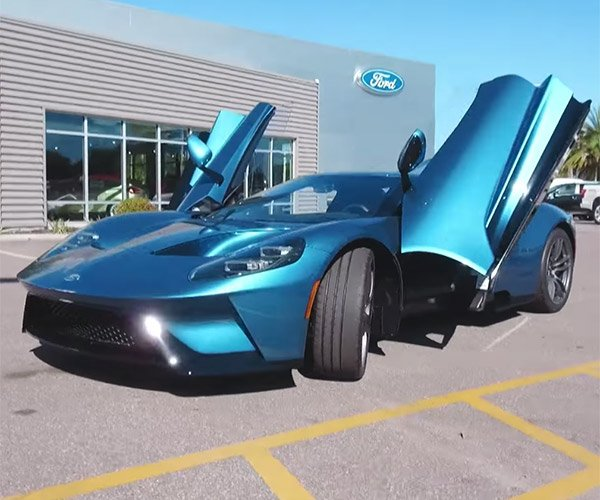 Ford Lawyers Coming After John Cena for Selling Ford GT