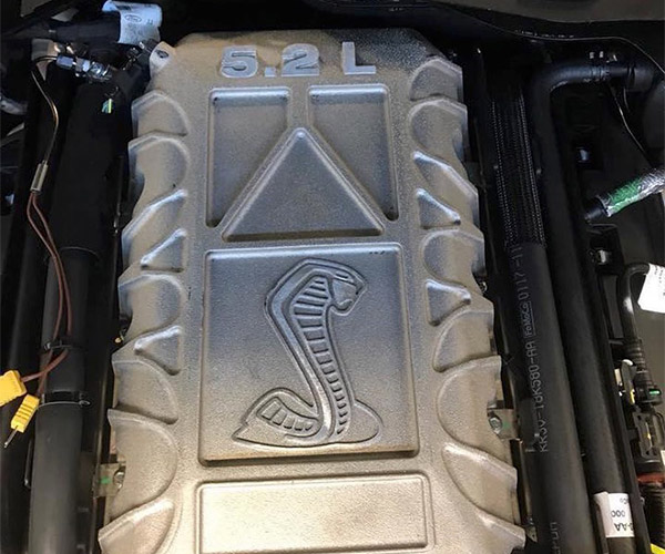 Image of Alleged New Shelby GT500 Engine Leaked