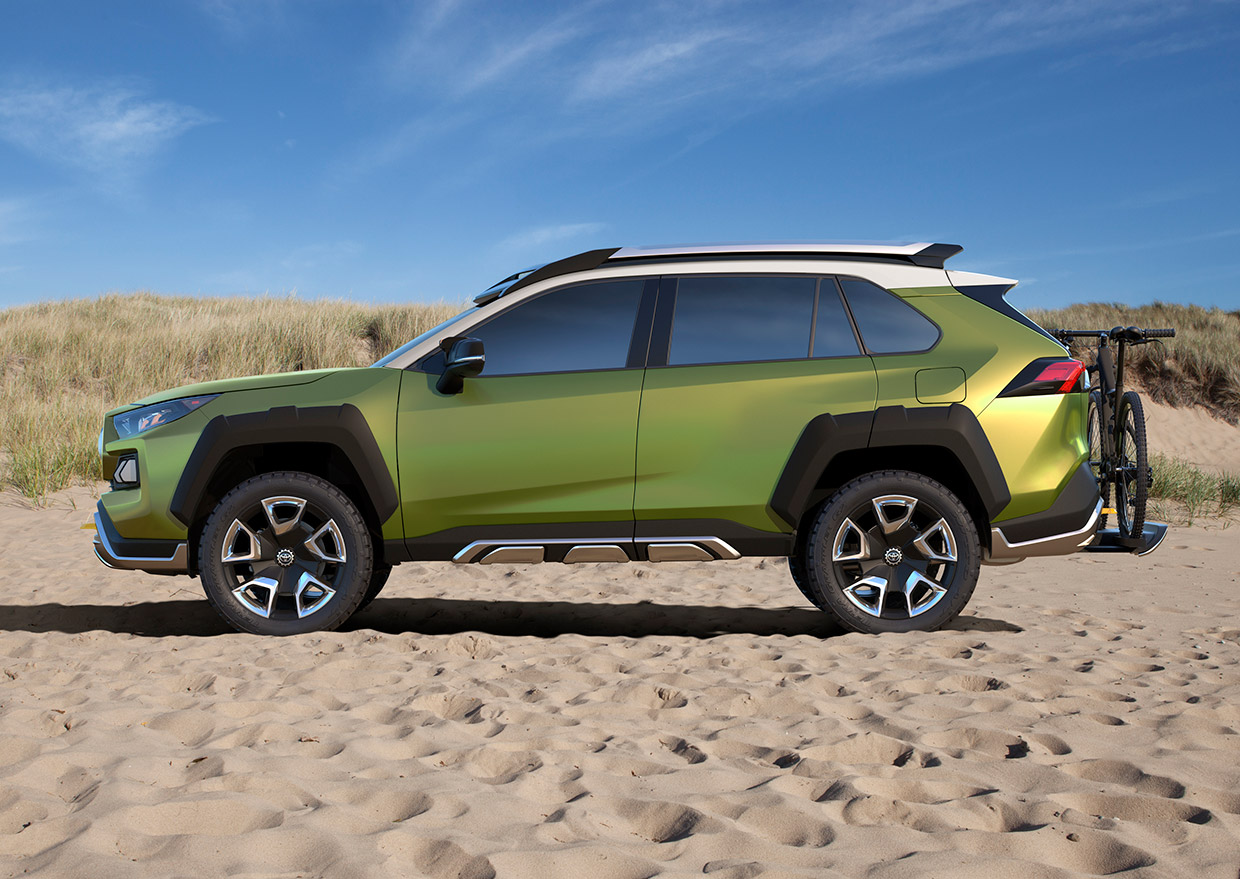 Toyota Ft Ac Concept The Rugged Rav4 We Ve Always Wanted