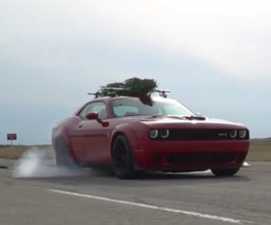World's Fastest Christmas Tree Does 174 mph