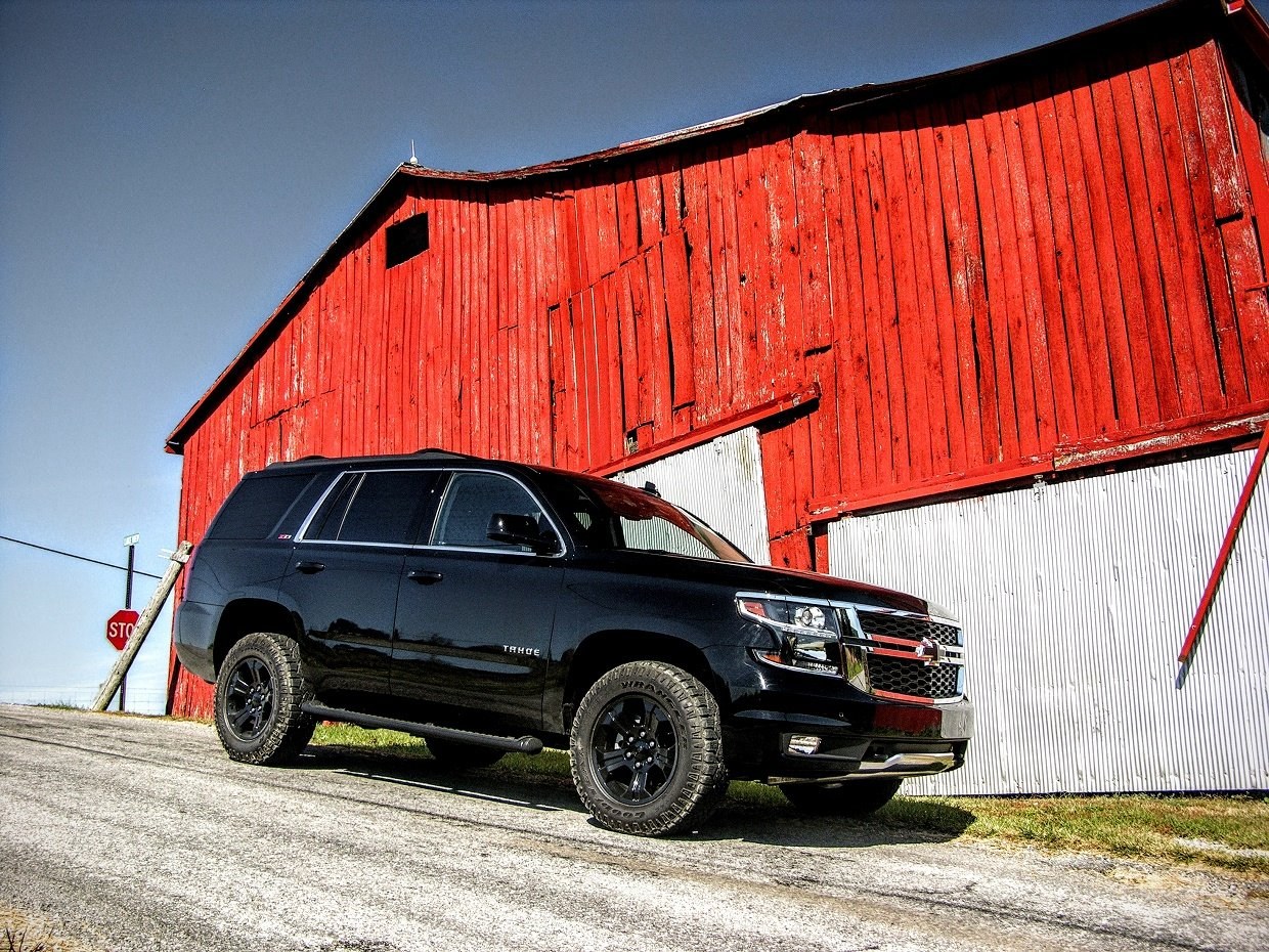 From A Cosmetic Perspective This Dark Version Of The Tahoe Is Almost Ideal In Regard To Proportion And Accentuation It S Taken Years Tweaking