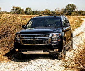 2017 Chevy Tahoe Z71 Review: Blackout Badass