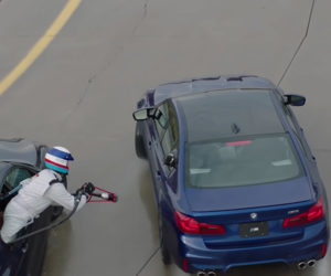 BMW Attempts Car-to-Car Refueling for World's Longest Drift