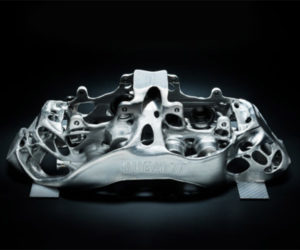 Bugatti to Use 3D-printed Titanium for Chiron Brake Calipers