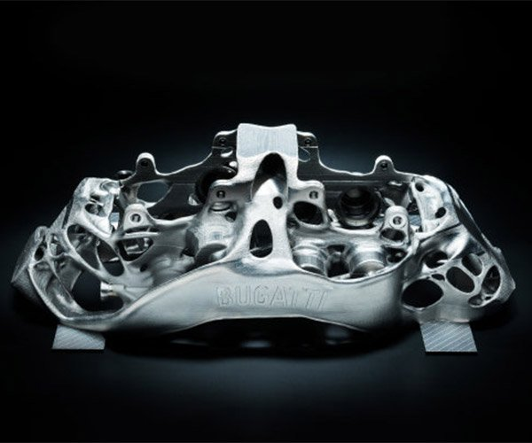 Bugatti to Use 3D-printed Titanium for Chiron Brake Calipers