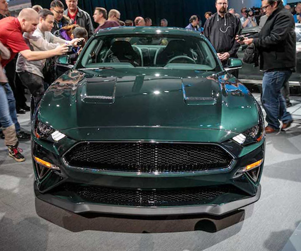 2019 Bullitt Mustang VIN001 Sold at Auction