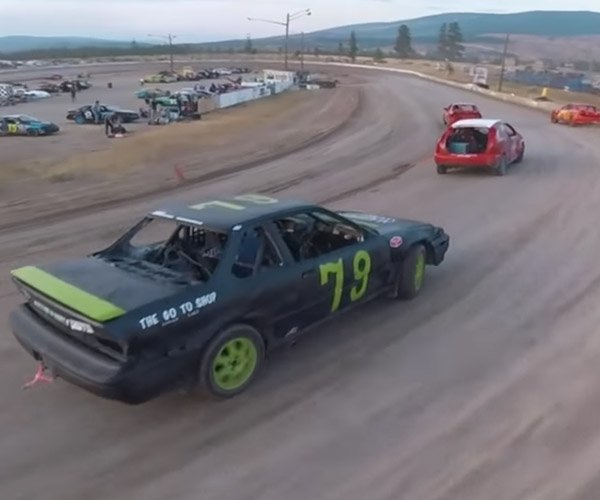 Racing Drones vs. Stock Cars Should Be a Sport
