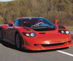 SP-110 Edonis Fenice is an Updated Bugatti EB 110