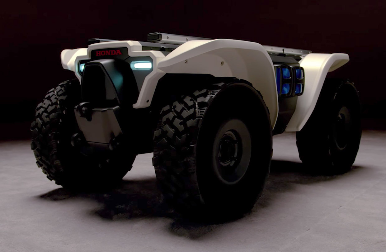 3E-D18 Robotic Concept Is an Autonomous, Off-road Workhorse