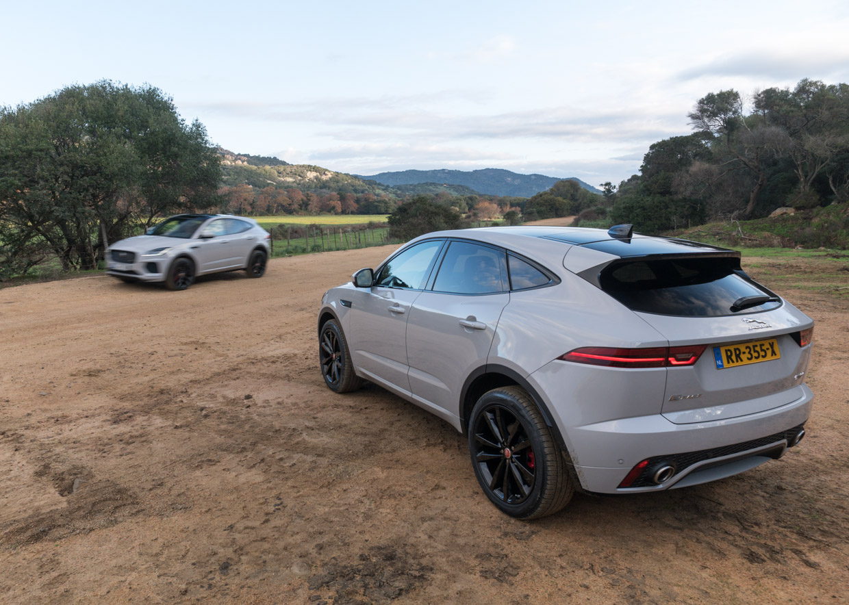 2018 jaguar e pace first drive review small but mighty 95 octane. Black Bedroom Furniture Sets. Home Design Ideas