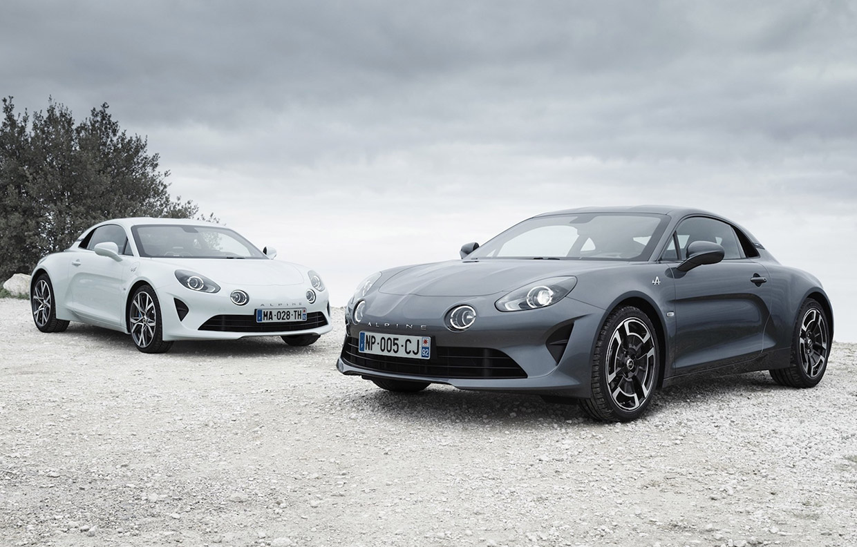 Alpine A110 Pure is the Lightest Yet, A110 Légende the Heaviest
