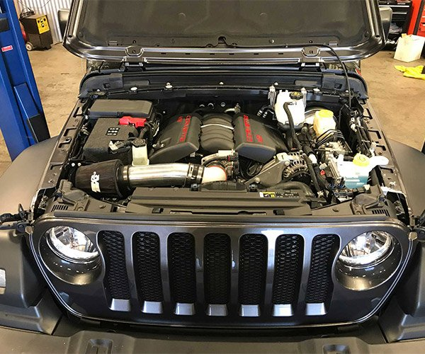 Bruiser Conversions Will Give Your Wrangler JL a Corvette V8 Heart