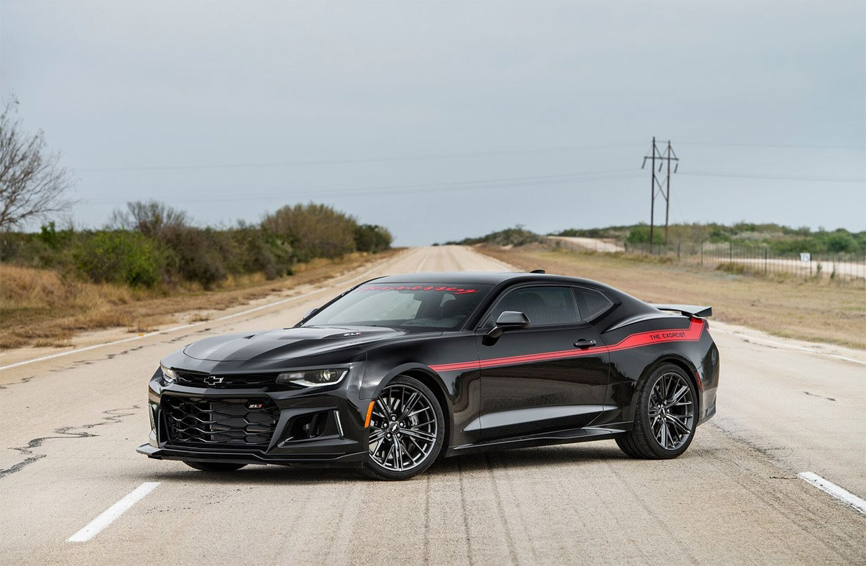 How Fast Can Hennessey S The Exorcist Camaro Zl1 Go 95
