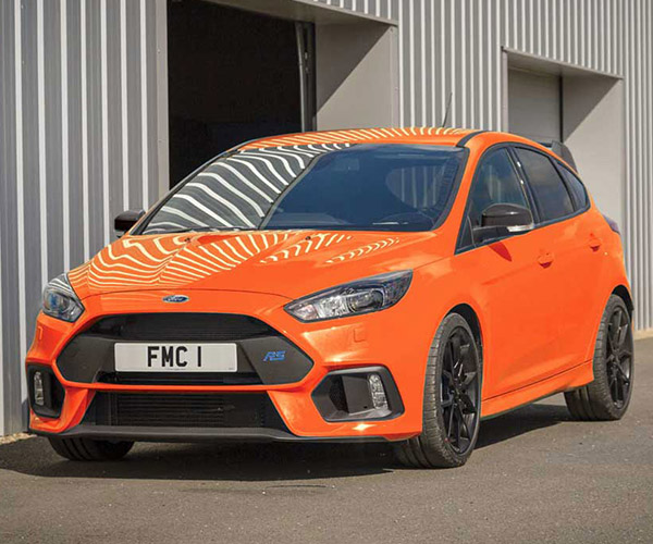 Orange You Jealous of the UK Exclusive Focus RS Heritage Edition?