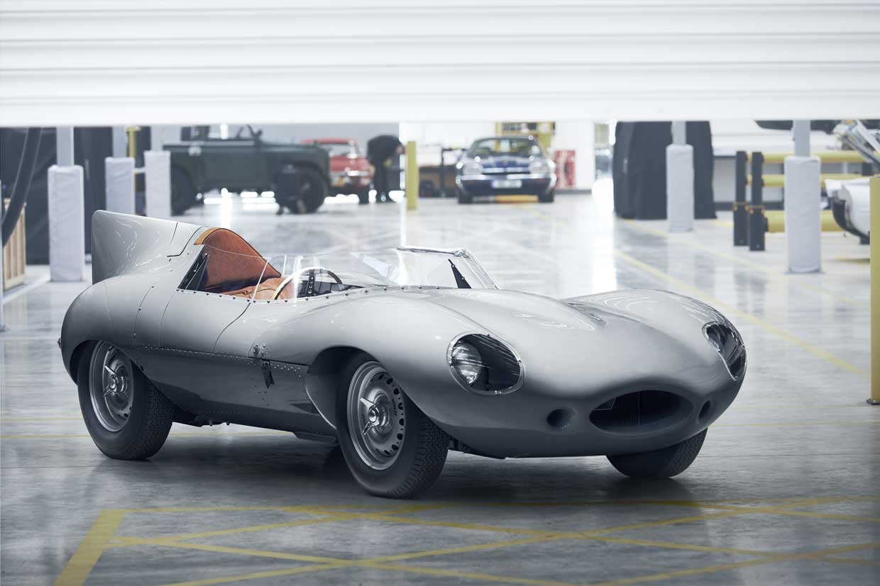 Jaguar D-Type Racer Production Restarts After 60 Year Hiatus