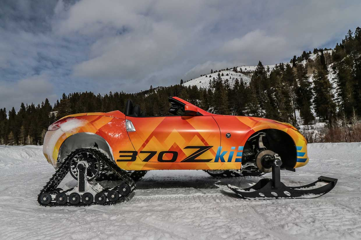Nissan 370Zki Is Built for the Slopes