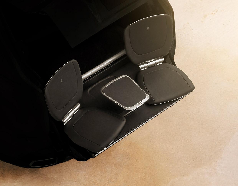 Rolls-Royce Cullinan Tailgates in Haute Style