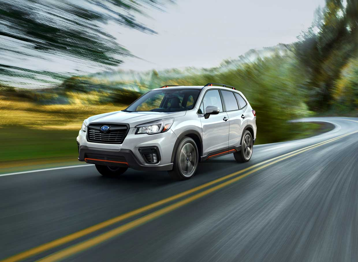 All-New 2019 Subaru Forester Adds Sport Trim