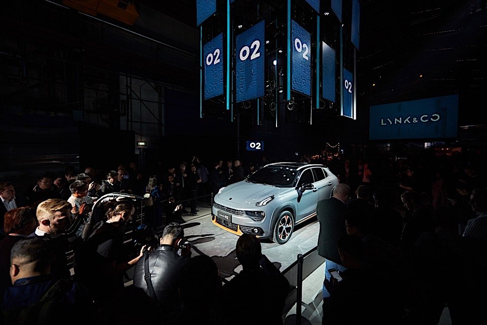 LYNK & CO's 02 Crossover and Leasing Model Ready for Europe