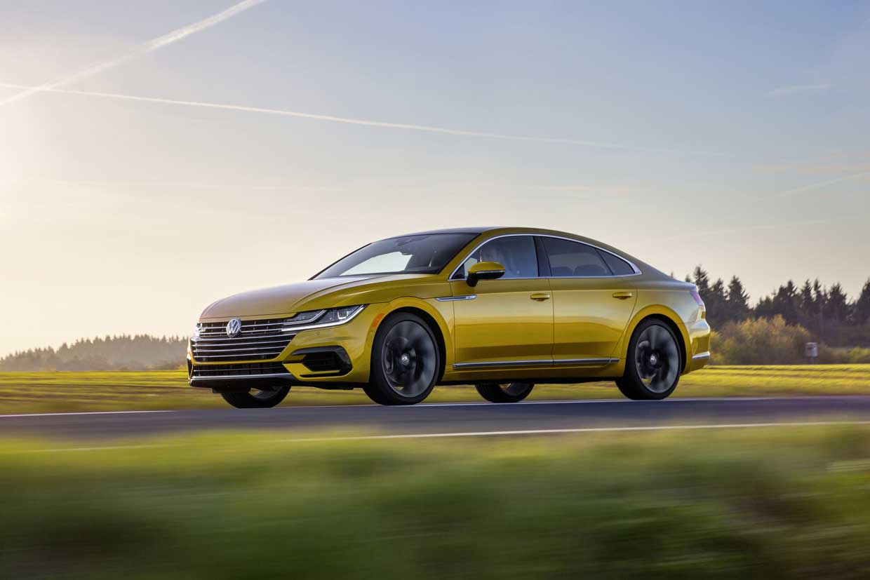 Volkswagen Arteon R-Line Package to Launch This Fall